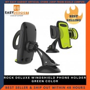 Rock Deluxe Windshield Phone Holder - Green