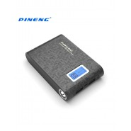 PINENG 10000MAH PN913 DUAL PORTS POWER BANK - BLACK