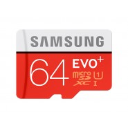 ORIGINAL SAMSUNG EVO Plus 80MB/s Class 10 Micro SD 64GB