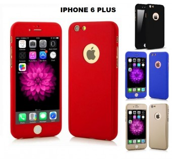IPHONE 5 / 5S / SE 360 FULL BODY PROTECTION CASE + TEMPERED GLASS IPHONE 6 6+ IPHONE 7 7+