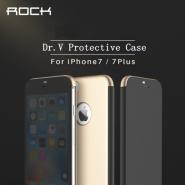 Rock Dr V Series Flip Cover For Apple iPhone 7 Plus - Black