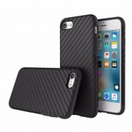 Rock Origin Series Textured Back Case For Apple iPhone 7 - Black
