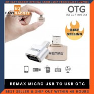 REMAX OTG USB TO MICRO-USB CONVERTER ADAPTER [CLEARANCE]