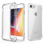 IPHONE 7 / 8 ANTI SHOCK DROP PROOF TRANSPARENT PROTECTION COVER CLEAR CASE