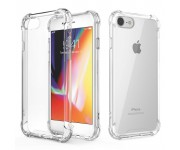 Anti Shock Air Bag Case for Apple iPhone 7 - Clear Transparent