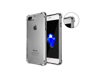 Anti Shock Air Bag Case for Apple iPhone 7 Plus - Clear Transparent