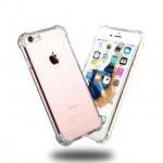 Anti Shock Air Bag Case for Apple iPhone 7 Plus - Clear Transparent
