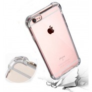 Anti Shock Air Bag Case for Apple iPhone 6 / 6s- Clear Transparent