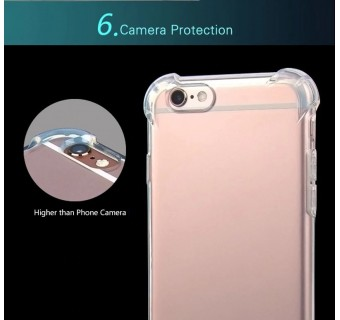 Iphone 6 Plus / 6s Plus Anti Shock Drop Proof Transparent Protection Cover Clear Case Iphone 5 5s Se Iphone 6 6s Iphone 7 7+iphone 8 8+
