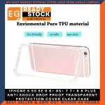 IPHONE 5 5S SE 6 6+ 6S+ 7 7+ 8 8 PLUS ANTI SHOCK DROP PROOF TRANSPARENT PROTECTION COVER CLEAR CASE