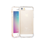 Anti Shock Air Bag Case for Apple iPhone 5 / 5s / SE- Clear Transparent