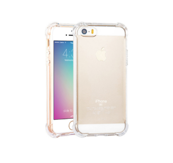 IPHONE 5 / 5S / SE ANTI SHOCK DROP PROOF TRANSPARENT PROTECTION COVER CLEAR CASE