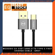 MCDODO CA-2301 USB3.0 TO TYPE-C FAST CHARGE CABLE - GREY