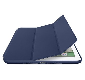 Apple iPad Air 2 High Quality Smart Cover Slim Fit Stand Case  - Blue
