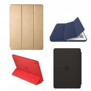 Apple iPad Mini / Air / Pro 9.7 - 12.9 High Quality Smart Cover Slim Fit Stand Case