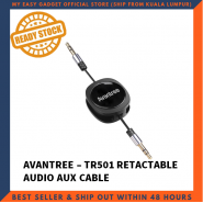 AVANTREE TR501 RETRACTABLE AUDIO AUX CABLE