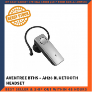 AVANTREE BTHS-AH28 UNIVERSAL BLUETOOTH HEADSET HANDSFREE - SILVER