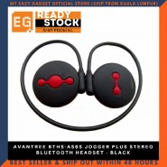 AVANTREE BTHS-AS6S JOGGER PLUS STEREO BLUETOOTH HEADSET - BLACK