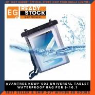 AVANTREE KSWP-003 UNIVERSAL TABLET WATERPROOF BAG FOR 9-10.1