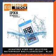 AVANTREE KSWP-007 JELLYFISH WATERPROOF BAG FLUORESCENT - BLUE