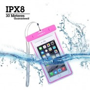 AVANTREE KSWP-007 JELLYFISH WATERPROOF BAG FLUORESCENT - PINK