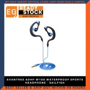AVANTREE ADHF-W100 WATERPROOF SPORTS HEADPHONE - SAILFISH