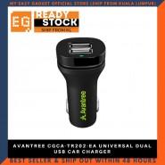 AVANTREE CGCA-TR202-EA UNIVERSAL DUAL USB CAR CHARGER