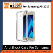 Samsung Galaxy A5 2017 Anti Shock Drop Proof Transparent Protection Cover Clear Case