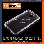 SAMSUNG GALAXY A7 2017 ANTI SHOCK DROP PROOF TRANSPARENT PROTECTION COVER CLEAR CASE