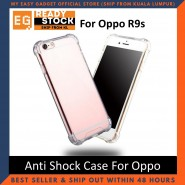Oppo R9s Anti Shock Drop Proof Transparent Protection Cover Clear Case
