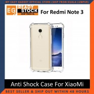 Xiaomi Redmi Note 3 Anti Shock Drop Proof Transparent Protection Cover Clear Case