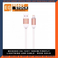 MCDODO CA-1241 100CM FIREFLY LIGHTNING USB CABLE - ROSE GOLD