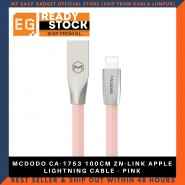 MCDODO CA-1753 100CM ZN-LINK APPLE LIGHTNING CABLE - PINK