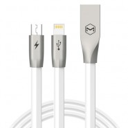 MCDODO CA-1870 120CM ZN-LINK 2 IN 1 LIGHTNING MICRO CABLE - WHITE