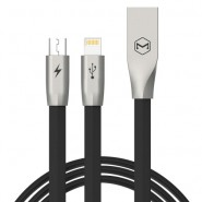 MCDODO CA-1871 120CM ZN-LINK 2 IN 1 LIGHTNING MICRO CABLE - BLACK