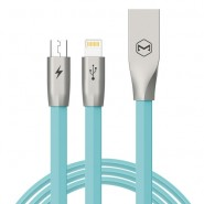 MCDODO CA-1872 120CM ZN-LINK 2 IN 1 LIGHTNING MICRO CABLE - BLUE