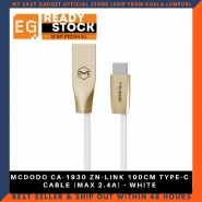 MCDODO CA-1930 ZN-LINK 100CM TYPE-C CABLE (MAX 2.4A) - WHITE
