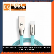 MCDODO CA-2002 ZN-LINK 200CM TYPE-C CABLE - BLUE