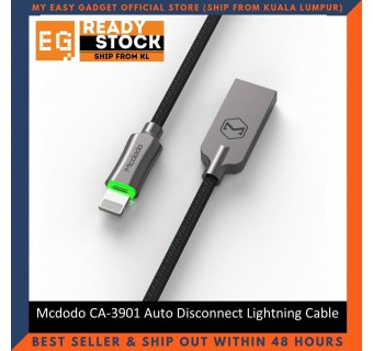 Mcdodo CA-3901 1.2 Meter Auto Disconnect Auto Recharge Lightning Cable