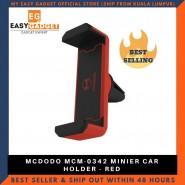 MCDODO MCM-0342 CAR MOUNT AIR VENT PHONE HOLDER - RED