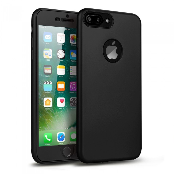 iphone 7 plus 360 case black