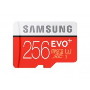ORIGINAL SAMSUNG EVO Plus 4K 100MB/s Class 10 Micro SD - 256GB