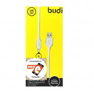 BUDI M8J173M 1.5 METER MICRO USB CABLE - WHITE