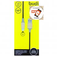 BUDI M8J146M 1.2 METER ALUMINUM SHELL MICRO USB CABLE - BLACK
