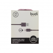 BUDI M8J023 1.2 METER APPLE LIGHTNING CABLE - BLACK