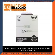 BUDI M8J023 1.2 METER APPLE LIGHTNING CABLE - WHITE