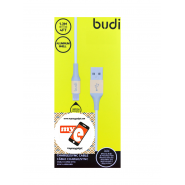 BUDI M8J143 1.2 METER ALUMINUM SHELL APPLE LIGHTNING CABLE - GOLD