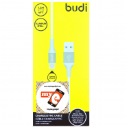 BUDI M8J143 1.2 METER ALUMINUM SHELL APPLE LIGHTNING CABLE - GREY
