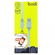 BUDI M8J161 1.2 METER ALUMINUM SHELL APPLE LIGHTNING CABLE - WHITE