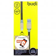BUDI M8J161M 1.2 METER ALUMINUM SHELL MICRO USB CABLE - BLACK
